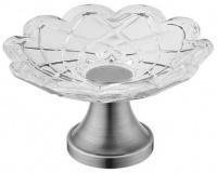 Мыльница Boheme Royal Crystal 10203 настольная хром / хрусталь