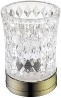 Стакан Boheme Royal Crystal 10211 настольный бронза / хрусталь