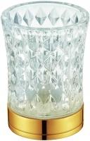 Стакан Boheme Royal Crystal 10212 настольный золото / хрусталь
