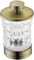 Контейнер Boheme Royal Crystal 10214 настольный для дисков бронза / хрусталь