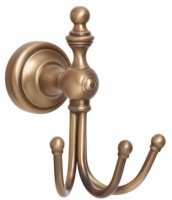 Крючок Cameya Rychmond A1601-3 тройной бронза