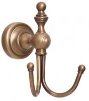 Крючок Cameya Rychmond A1601 двойной бронза