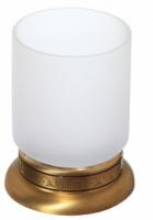 Стакан Cameya Rychmond A1614M настольный бронза/стекло матовое