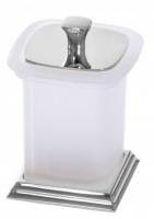 Контейнер Cameya Boston H1515 настольный хром/стекло матовое