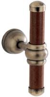 Крючок Carbonari Silvia Anticata  APSI ANT BR двойной античная бронза /дерево