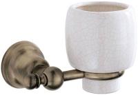 Стакан Carbonari Celeste Anticata PBCE ANT BR подвесной античная бронза / керамика белая