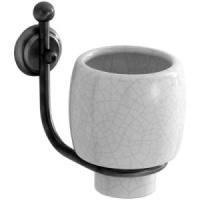 Стакан Carbonari Teresa PBTE CR подвесной хром / керамика белая