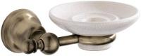 Мыльница Carbonari Celeste Anticata PSCE ANT BR подвесная античная бронза / керамика белая