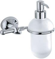 Дозатор для мыла Carbonari Riccio PSRI2 подвесной хром / стекло матовое