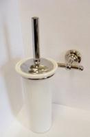 Ершик Carbonari Gamma SCGA2 CR для туалета настенный хром