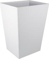 Ведро для мусора Colombo Black&White В9202 EPB экокожа цвет белый
