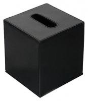 Контейнер Colombo Black&White В9204.EPN для салфеток 14 х h15 см экокожа цвет черный