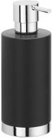 Дозатор Colombo Nordic B9324.0CR-CNO настольный хром / керамика черная