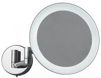 Зеркало косметическое Colombo Complementi B9751 настенное 20 х h35,5 cм c LED подсветкой хром