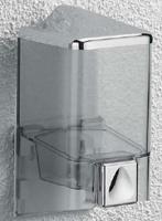 Дозатор для мыла Colombo Hotel Collection B9970.000 подвесной хром / пластик
