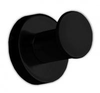 Крючок Colombo Plus W4917.NM одинарный черный матовый