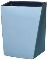 Корзина Creative Bath Wavelength WVL54BLU для мусора цвет синий/голубой