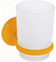Стакан Creavit Ducky BJ11023Y подвесной желтый/стекло