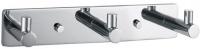 Крючок Decor Walther Basic 0530600 BA HAK3 на планке (3 штуки) хром