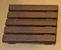 Мыльница Decor Walther Wood 0925986 WO STSB настольная бук