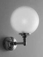 Светильник Devon&Devon Chelsea DECHEISEA настенный латунь / стекло матовое