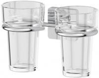 Держатель двух стаканов Ellux Avantgarde AVA 007 хром