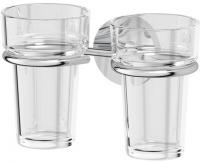 Держатель двух стаканов Ellux Elegance ELE 007 хром