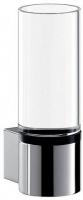 Стакан Emco System 2  3520 001 00 настенный  хром / стекло прозрачное