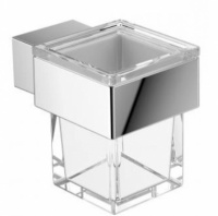 Стакан Emco Vara 4220 001 00 настенный хром / стекло прозрачное