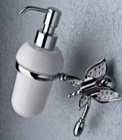 Дозатор мыла Etruska Icaro 4802/D/53/PERLA/CER подвесной хром/белый/керамика