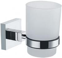 Стакан Fixsen Metra FX-11106 подвесной хром/стекло матовое
