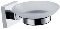 Мыльница Fixsen Metra FX-11108 подвесная хром/стекло матовое