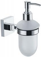 Дозатор для мыла Fixsen Metra FX-11112 подвесной хром/стекло матовое