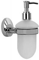 Дозатор для мыла Fixsen Europa FX-21812 подвесной хром/стекло матовое