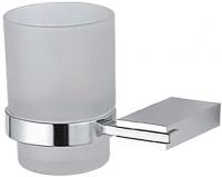 Стакан Fixsen Noble FX-6106 подвесной хром/стекло матовое