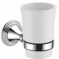 Стакан Fixsen Best FX-71606 подвесной хром/керамика белая