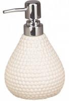 Дозатор для мыла Fixsen Peny FX-B033-W-1 настольный цвет белый