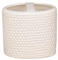 Стакан Fixsen Peny FX-B033-W-2 настольный для зубных щеток цвет белый