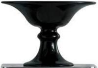 Мыльница Globo Relais RE041NE настольная керамика черная