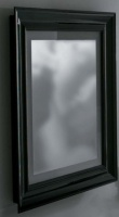 Зеркало Globo Relais SP080NE 800 х h900 мм с подсветкой рама черная