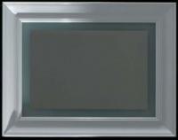 Зеркало Globo Relais SP100 1000 х h900 мм с подсветкой рама белая