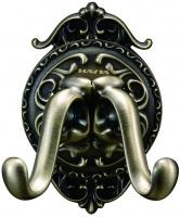 Крючок двойной Hayta Gabriel 13901-2/BRONZE бронза