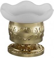 Мыльница Hayta Gabriel 13916-2/GOLD настольная золото/стекло