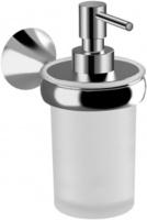 Дозатор для мыла Jika Heritage 3833H.2.004.000.1 настенный хром / стекло матовое