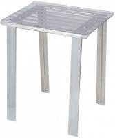 Стульчик Koh-i-Noor Leo 5370 T для душевой кабины душа сиденье прозрачное