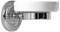 Мыльница Magliezza Kollana 80503-CR настенная хром /керамика