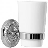 Стакан Magliezza Kollana 80505-CR настенный хром/керамика