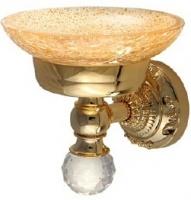 Мыльница Migliore Cristalia ML.CRS-60.201.DO настенная золото/Swarovski