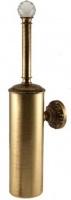 Ершик Migliore Cristalia  ML.CRS-60.203.DO для туалета настенный золото/Swarovski