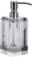 Дозатор Nicol Patricia 2121900 настольный для жидкого мыла хром / хрусталь прозрачный